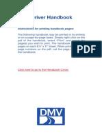 DMV Handbook