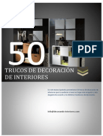 50 Trucos de Decoracion de Interiores