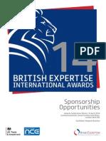 BEIA 2014 Sponsorship Brochure