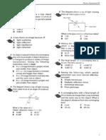 SPM Physics Form 4 Chapter 5 Light Exercises