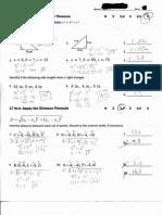 Pre-Algebra Unit 10 Quiz 2 Sw