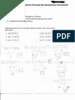 Pre-Algebra Unit 10 LT 10.5 RA HW Sw