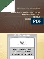 Reglamento Nacional de Edificaciones Actualizado