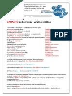 Gabarito 3em Lista de Exercicios Abr Casfs 2013