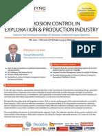 Corrosion Control in E&P