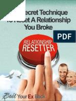 Relationship Resetter