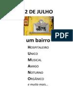 O DOIS DE JULHO É UM BARRO