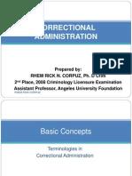 Institutional Corrections by: Rhem Rick N. Corpuz