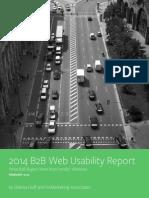 2014 B2B Web Usability Report