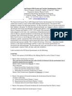 PIP Study 2 Levels 1 and 2 Scale Description