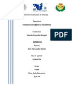 Bitacora Instalaciones Electricas Industriales