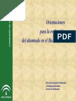 Orientaciones p La Eval Del @ en El Bachillerato (Int)