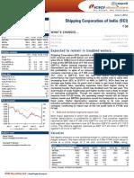 ICICIdirect ShippingCorporation_Q4FY12