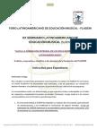 Instructivo Para Expositores - XX SLDEM - FLADEM 2014