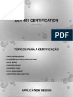 DEV 401 Certification