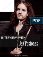 Interview with Jay Postones (TesseracT) by Sina Najaflou