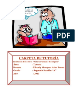 Caratula tutoría