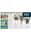 Students learn how to become coaches of the future (The Star, April 16, 2014)