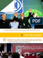 1. La campaña política como proceso de marketing