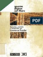 19 Los Apuntes Etnologicos de Karl Marx