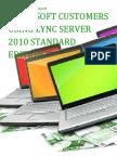 Microsoft Customers using Lync Server 2010 Standard Edition - Sales Intelligence™ Report