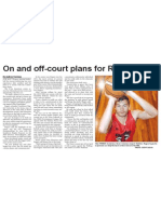 On and off-court plans for Rams centre (The Star, March 19, 2014)