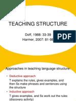 4.Teach Structure