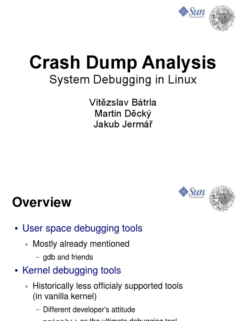 Crash Dump Analysis | Booting | Linux