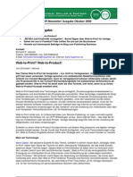 Newsletter Heinold, Spiller & Partner 10/2009
