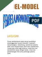 Model Pembelajaran