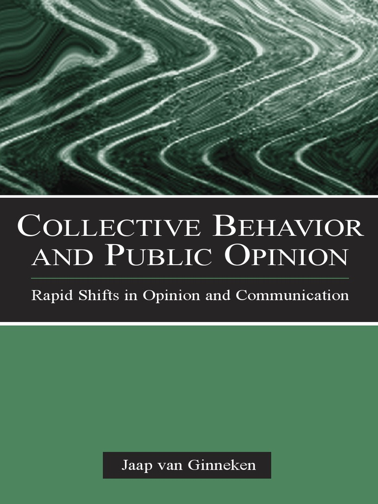 Collective behavior and public opinion sociology survey methodology fandeluxe Images
