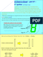 Digital Clock Tutorial 1