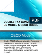 Double Tax Convention, Un Model & Oecd Model
