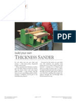 8A Thickness Sander