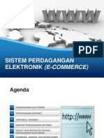 Sistem Perdagangan Elektronik (E-commerce)