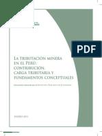 IPE Estudio Tributacion Minera