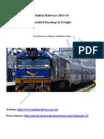 Indian Railways performance 2013-14
