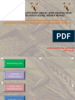 Forecasting Cultivated Areas and Production of Wheat In