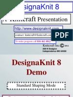 DesignaKnit 8 Hand Knit