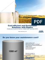 Cost-Efficient and Sustainable Solutions With Duplex Nov 2012