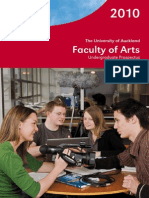 2010 Arts UG Prospectus