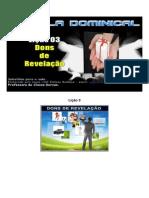 Licao 3 - Subsidio - Dons de Revelação.docx
