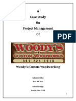 Woody's project management document
