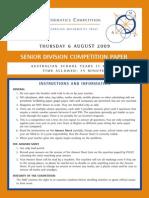 Amc Senior 2009 paper