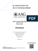 AAG Annual Meeting Program
