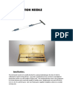 Pentrometer Specification
