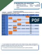 CMA 2014 - EDUCAÇÃO FISICA  2º ANO