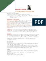Thyroid Cytology