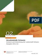 Arealstatistik Schweiz 2011d