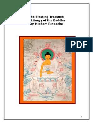 Shakyamuni Buddha by Mipham Rinpoche